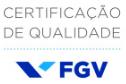 Certificado de qualidade FGV