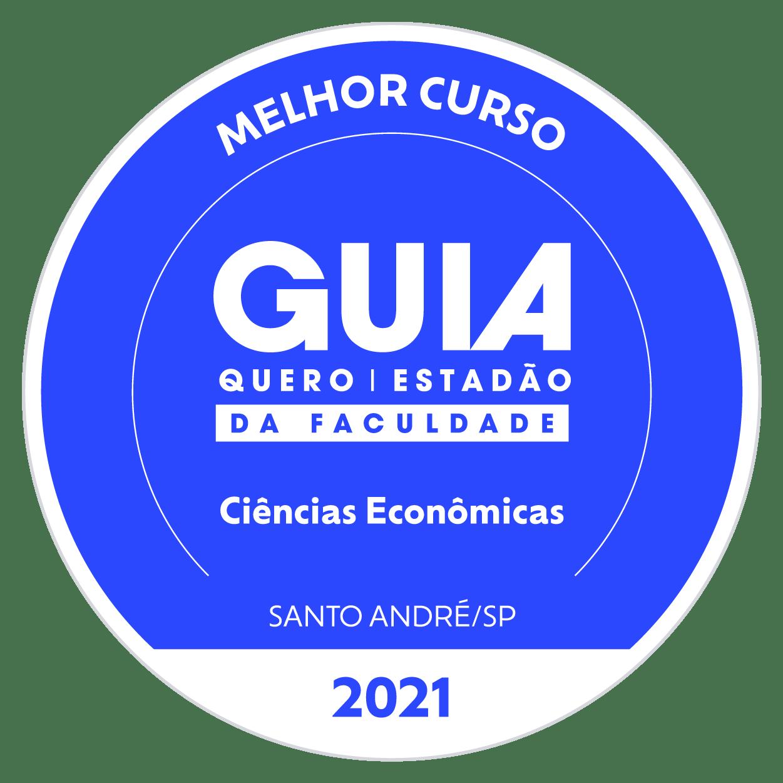 Selo Melhor Curso Ciências Economicas