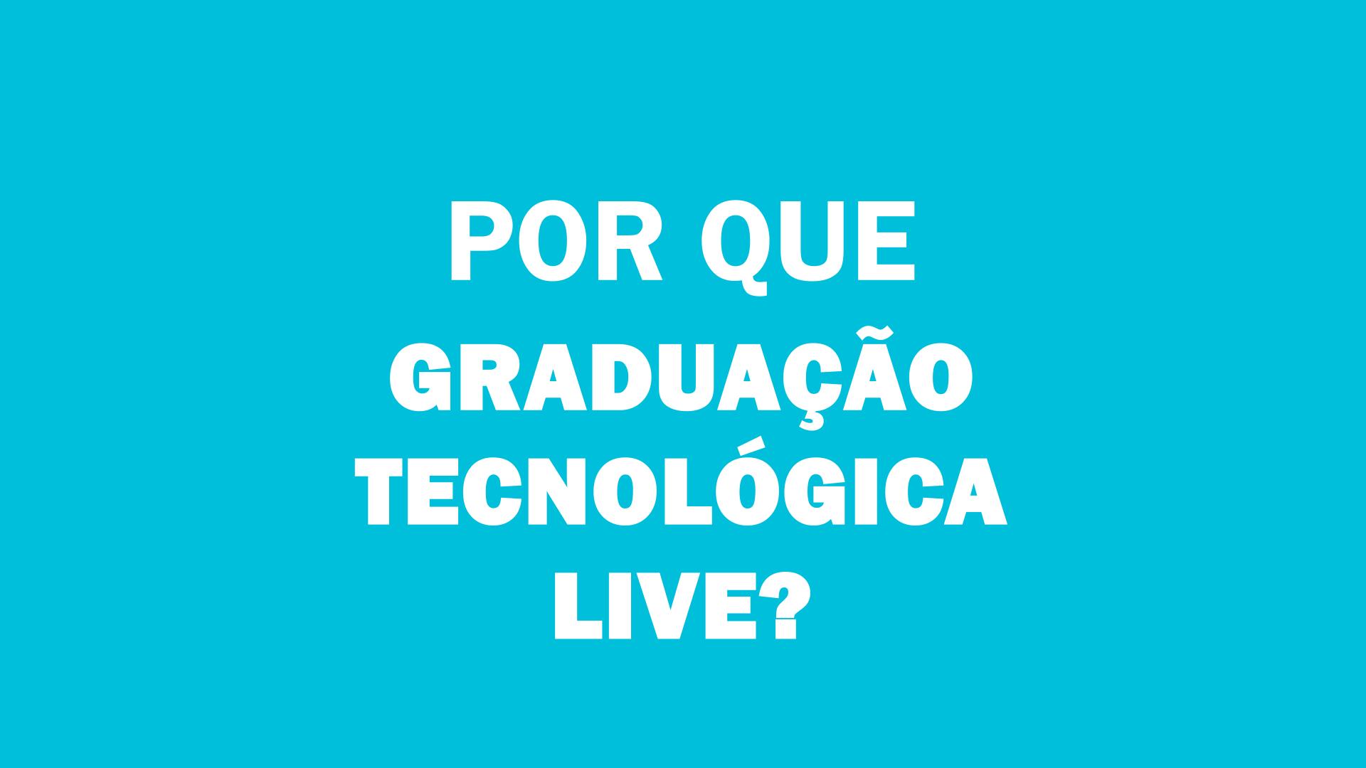 Graduação Tecnológica em Gestão Financeira